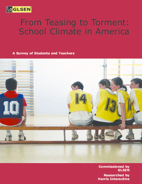 From Teasing to Torment: School Climate in America, A Survey of Students and Teachers
