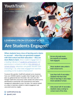 Learning From Student Voice: Are Students Engaged?
