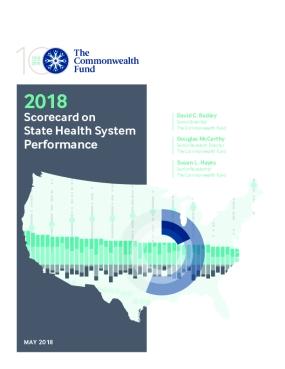 2018 Scorecard on  State Health System  Performance