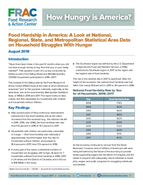 How Hungry is America?