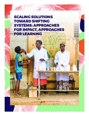 Scaling Solutions Report 2018: Approaches for Impact, Approaches for Learning