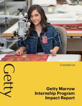 Getty Marrow Internship Program Impact Report
