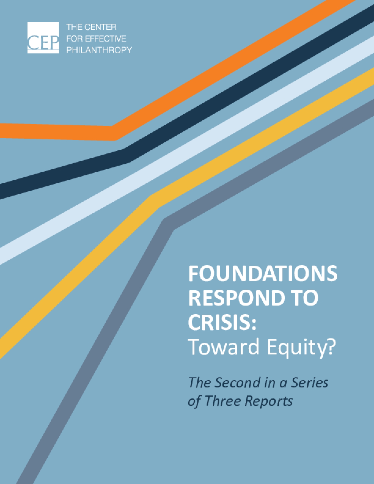 Foundations Respond to Crisis: Toward Equity?